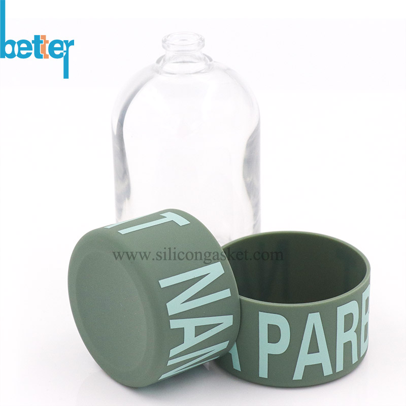 Different Silicone Sleeves Surface for Glass Bottle