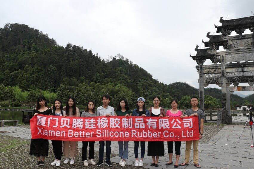 Xiamen Better Silicone Rubber Co.,Ltd arranged a trip